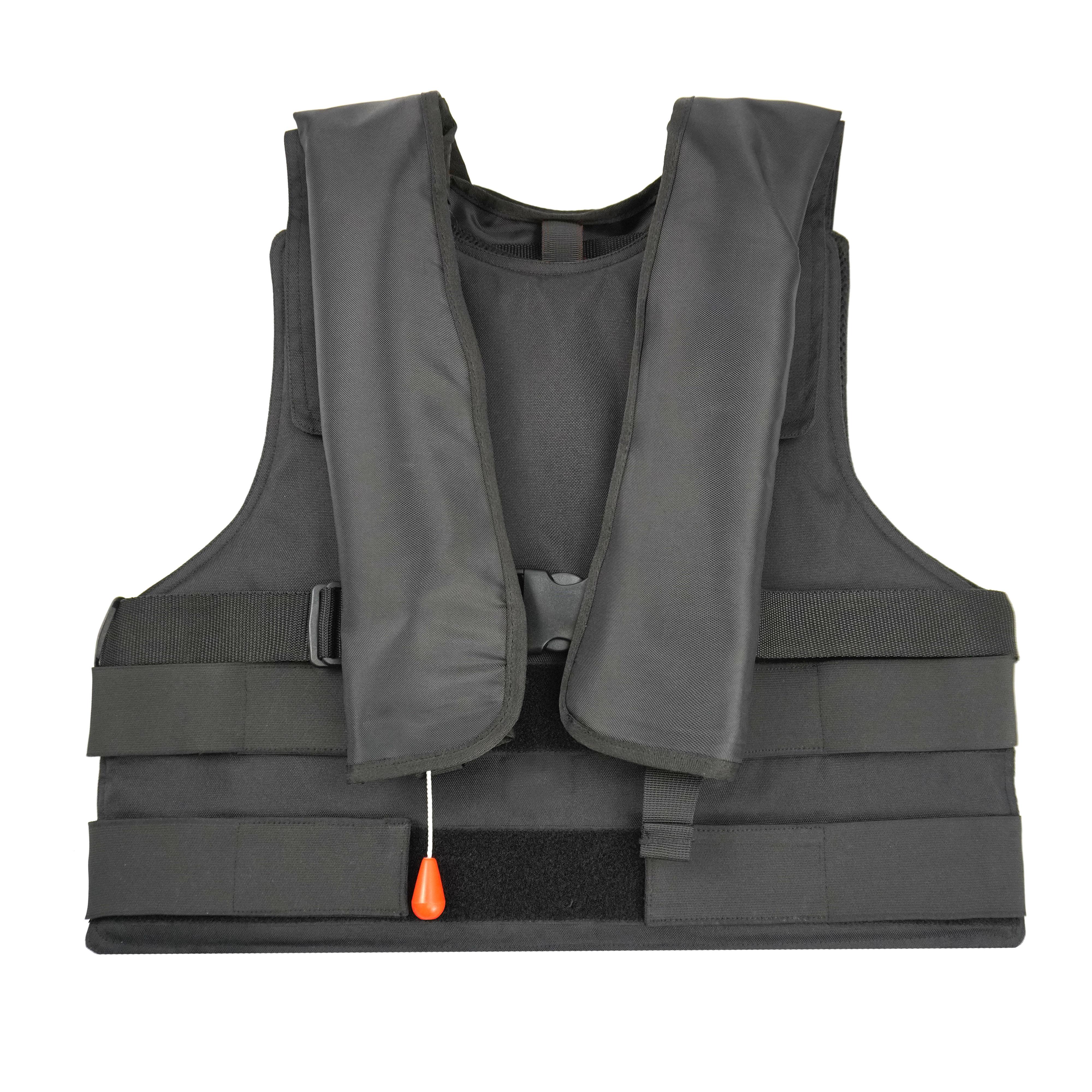 NIJ IIIA级充气式防弹衣