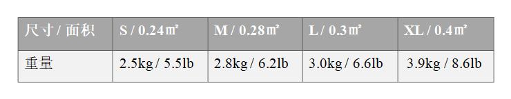 9mm防弹防刺双防服-尺寸&重量