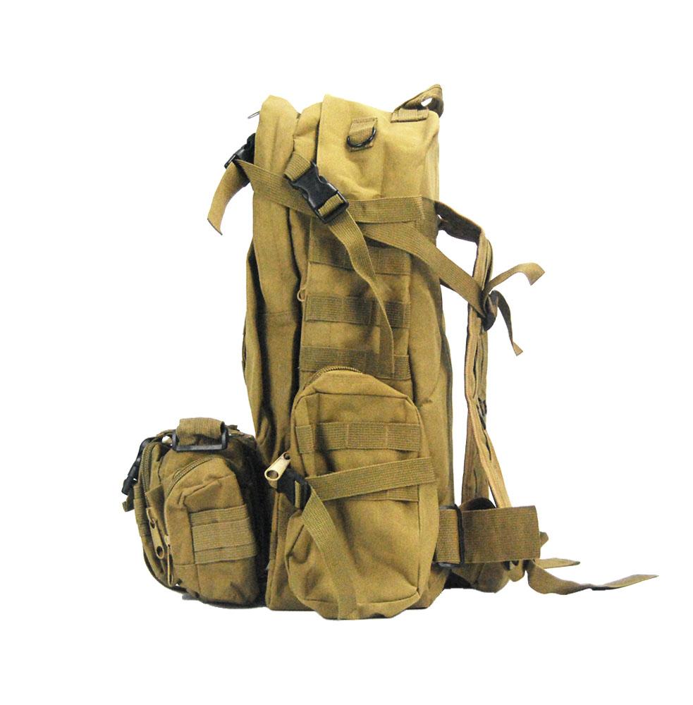 防弹背包-侧面