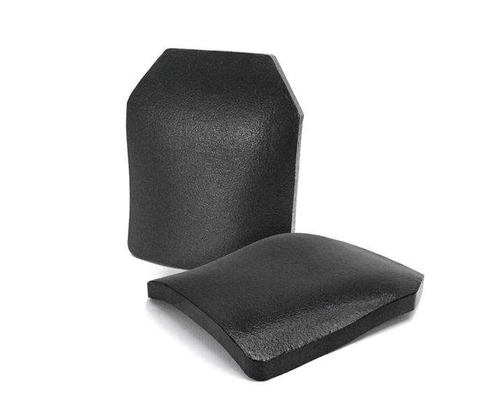 NIJ III级碳化硅多曲面防弹插板STA